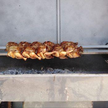 Пиле на жар град Сливен